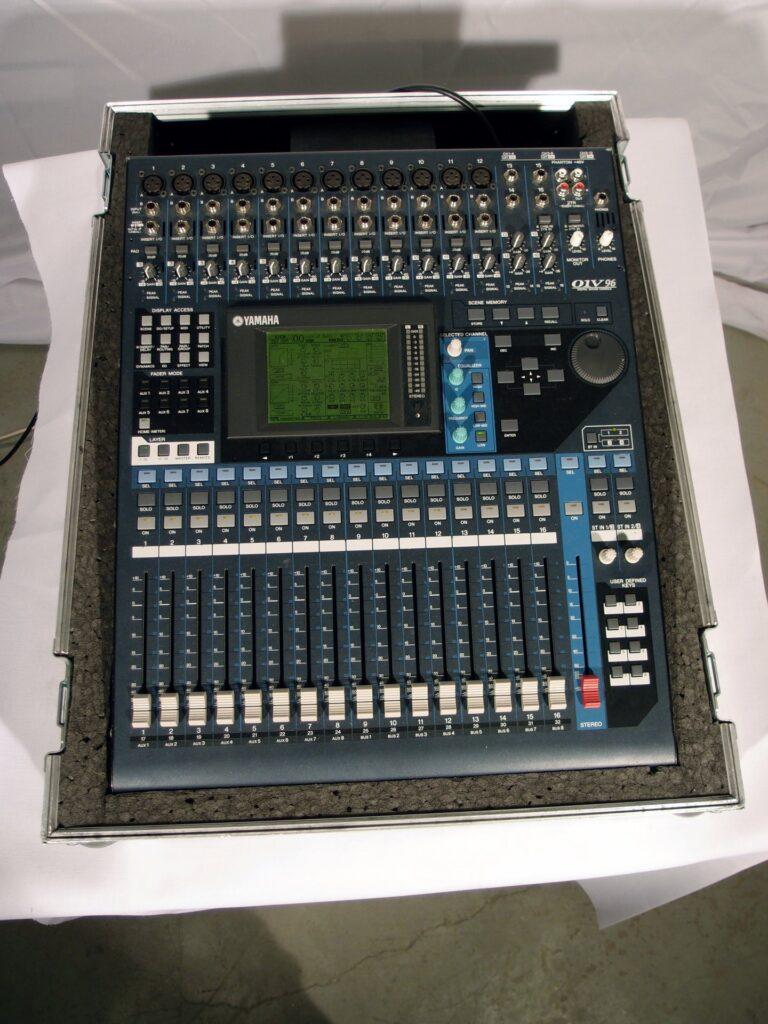 01v96v2 digital mixer