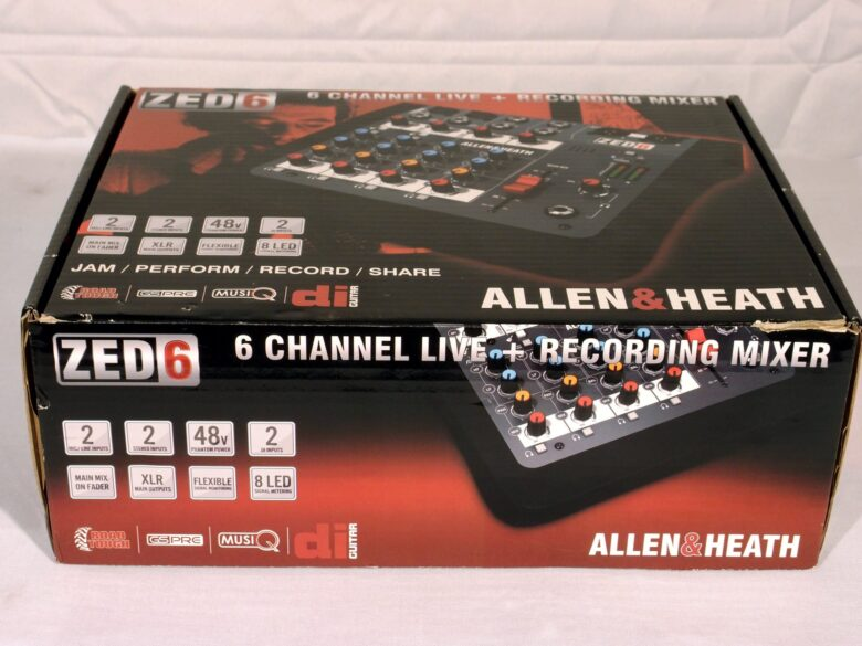 Allen & Heath ZED-6 recording mixer