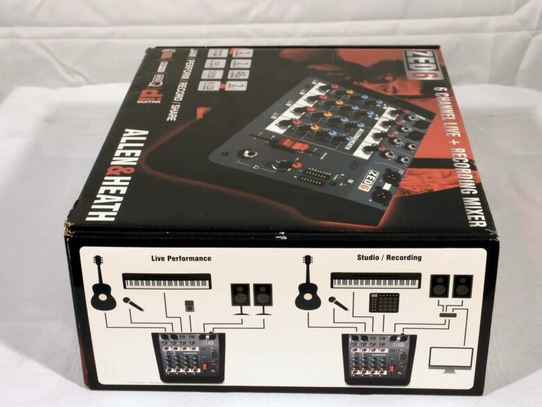 Allen & Heath ZED-6 new in box