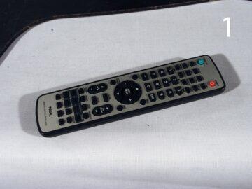 NEC Multisync X552S remote