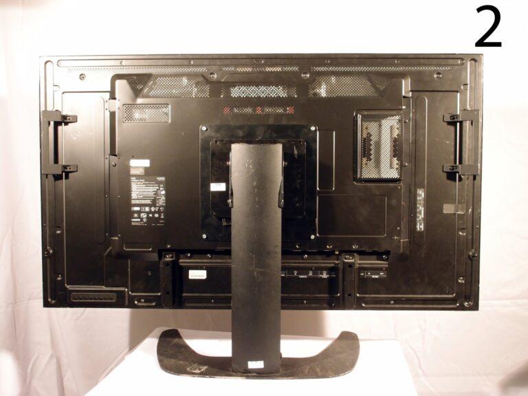 NEC Multisync X552S 55 inch rear view