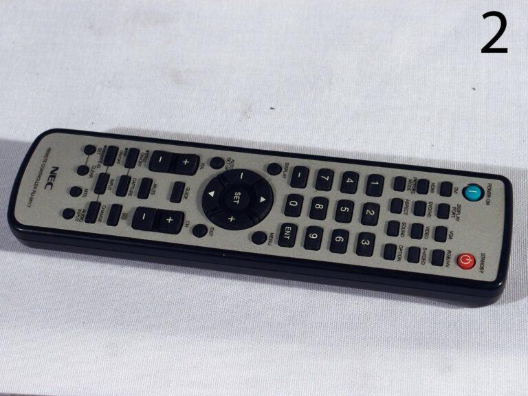 NEC Multisync X552S 55 inch remote