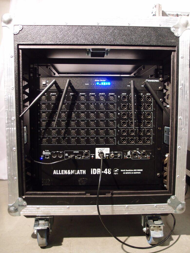 Allen & Heath Ilive t112 IDR-48 Rack