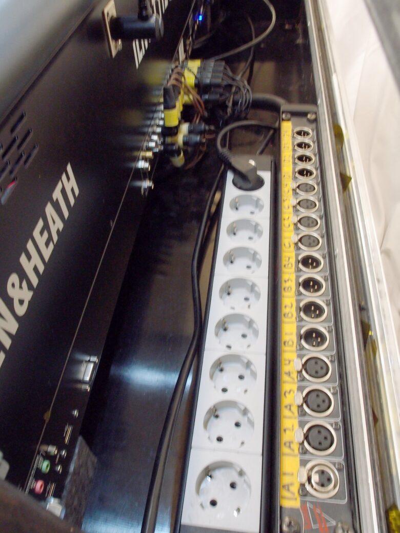 Allen & Heath Ilive T112 rear view