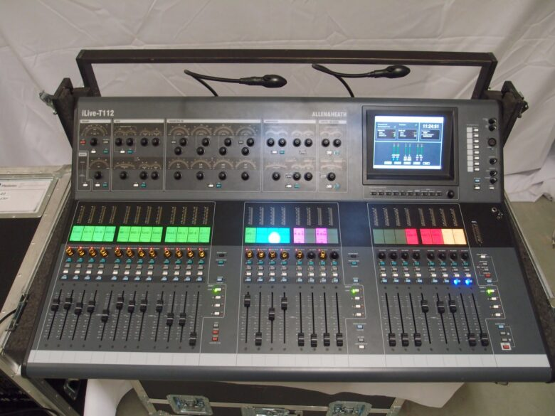 Allen & Heath Ilive t112 front view
