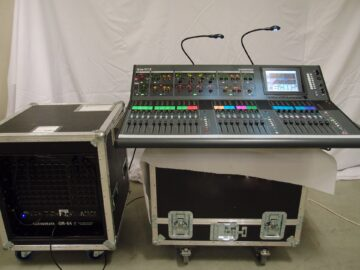 Allen & Heath ilive t112 with rack and case used