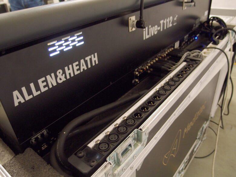 Allen & Heath ilive T112 used rear view
