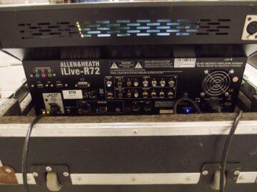 Allen & Heath iLive-R72 rear view