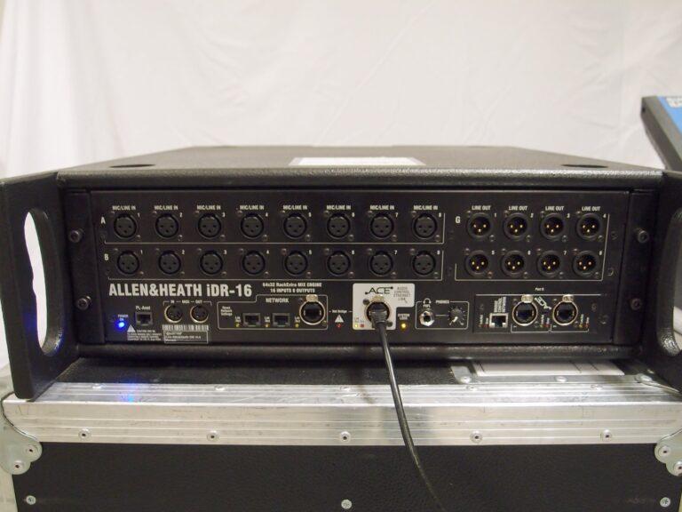 Allen & Heath iLive-R72 w/iDR-16