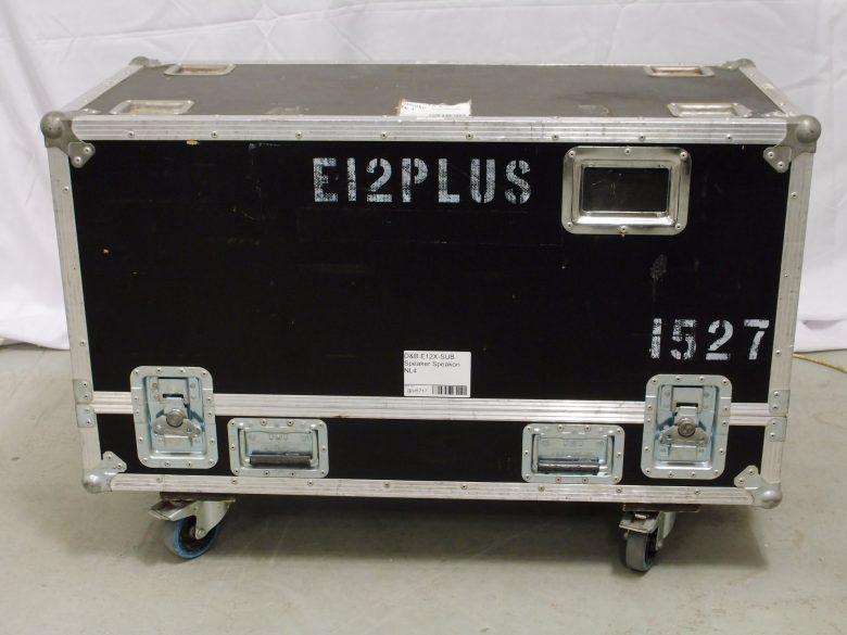 E12X-SUB flight case