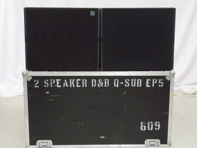 d&b Q-SUB used