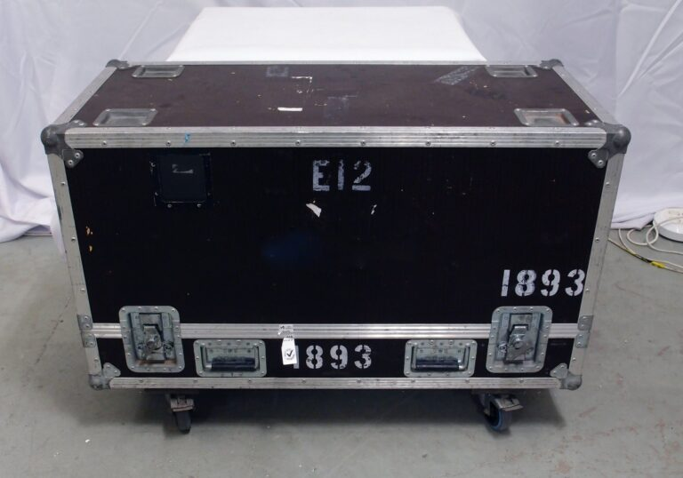 d&b E12-SUB in flight case used