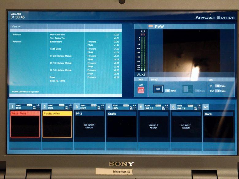 Sony AWS-G500 display - Used