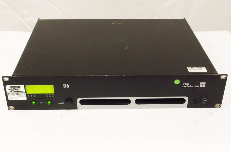 d&b D6 amplifier used for sale