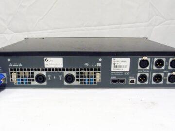 d&b D6 amplifier rear view