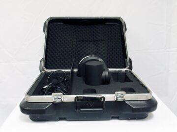 Panasonic AW-HE120 in flight case
