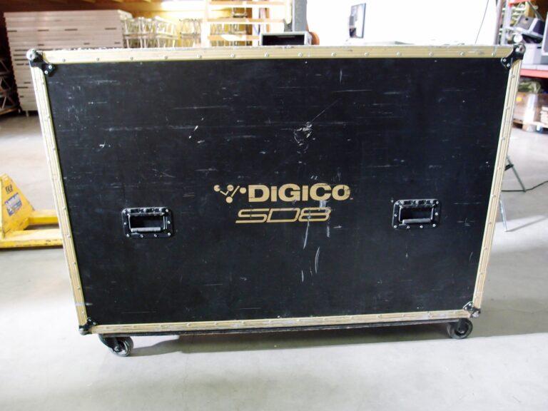 digico sd8 in flight case for sale