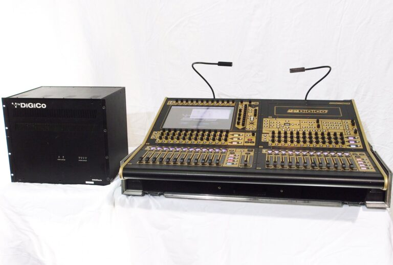 Used Digico SD8-24 with Digirack for sale