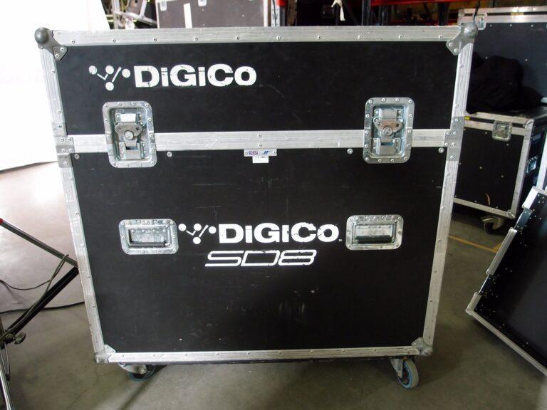 Digico SD8-24 in flight case for sale