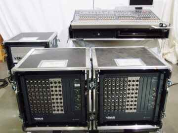 Avid Digidesign VENUE Profile in flight case