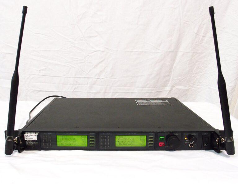 Shure UR4D+ wireless receiver UHF-R