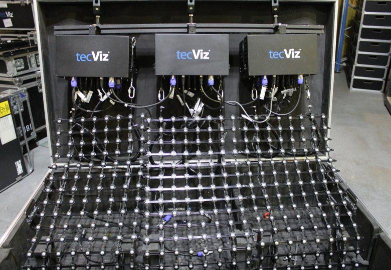 TecViz LEDNet M55 in case