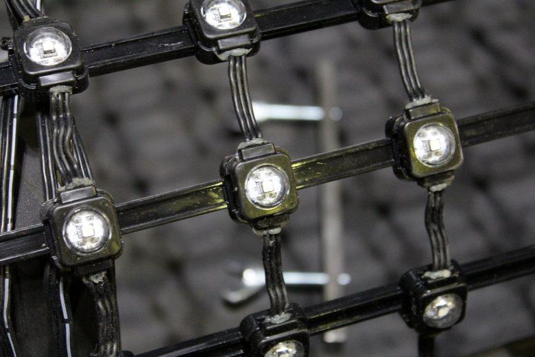 TecViz LEDNet M55 mesh detail