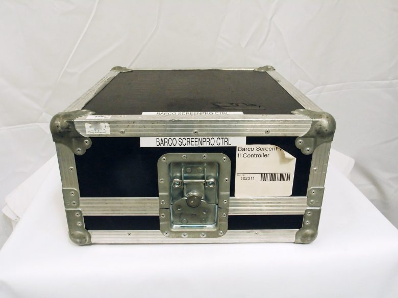 Barco ScreenPRO-II Controller in flight case