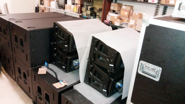 DAS Audio Aero Line Array for sale