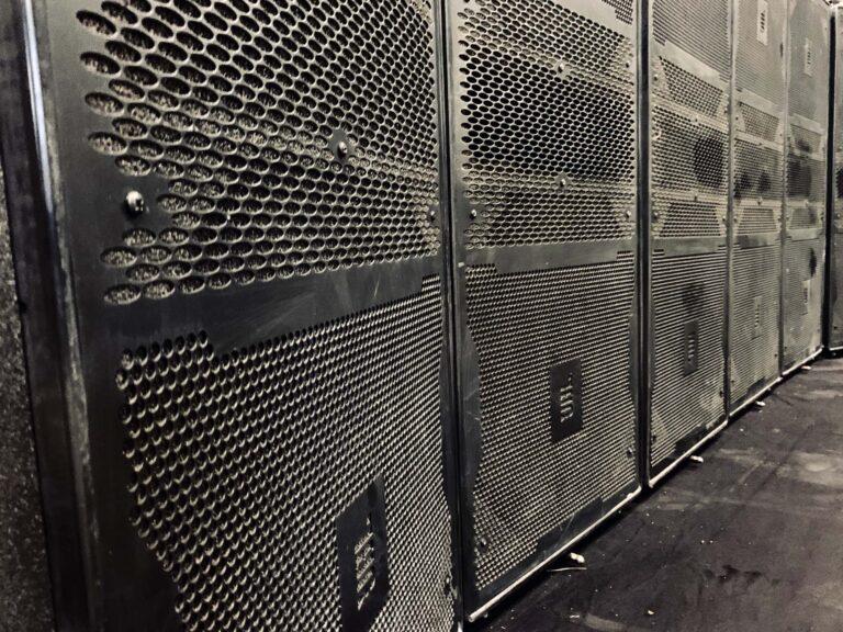 JBL Vertec 4888/4880 line array speaker system for sale