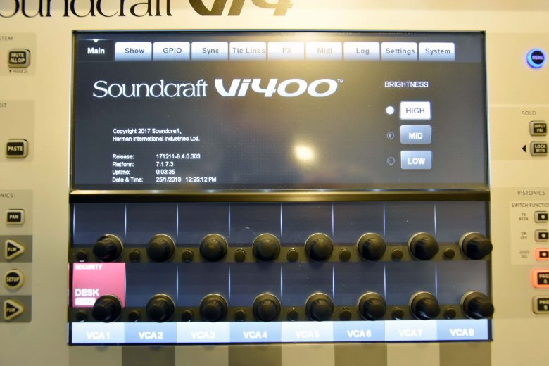 Soundcraft Vi400 for sale