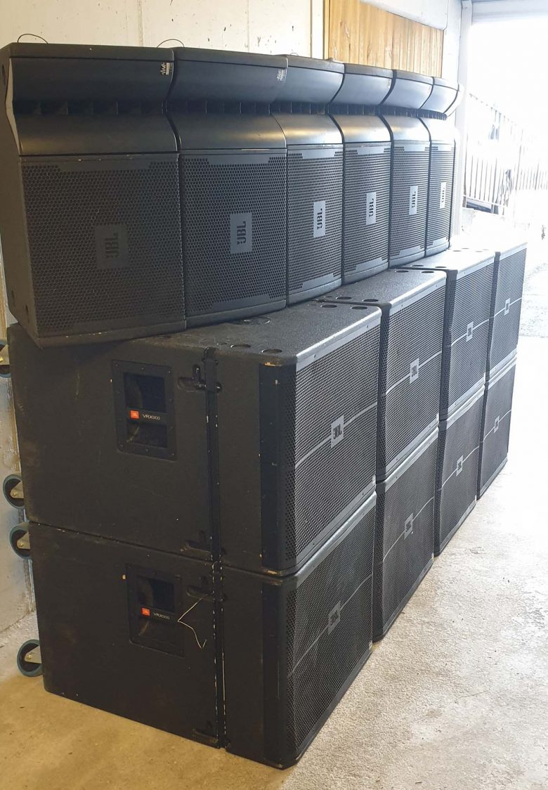 JBL VRX Active line array for sale