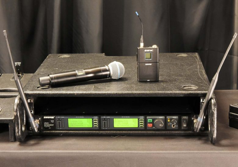 Shure UHF-R UR4D for sale