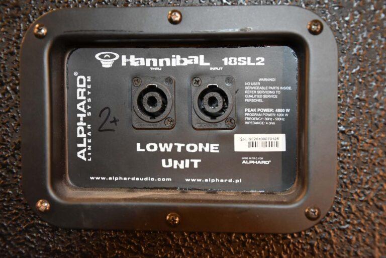 Alphard Hannibal 18SL2 for sale