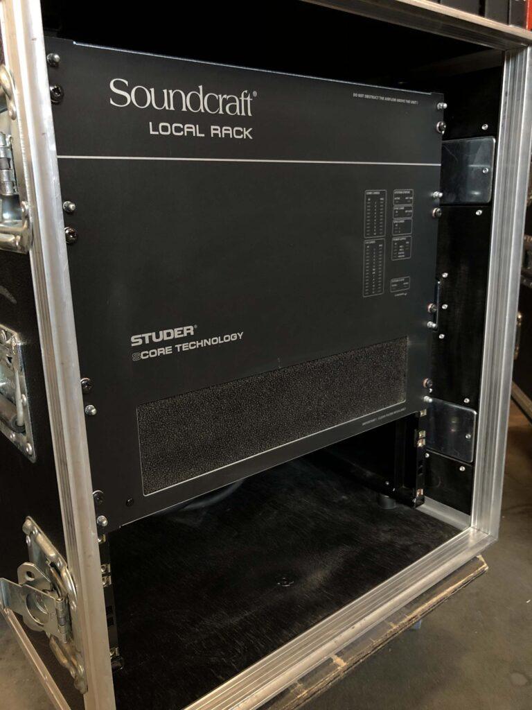 Soundcraft Vi Local rack for sale