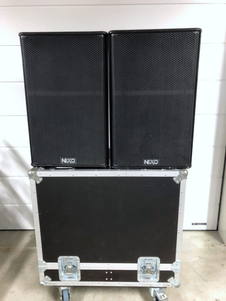 PS15-R2 used in double flight case
