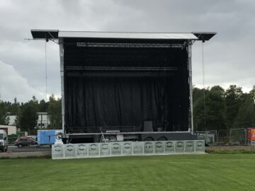 Stagepartner Freestage XXL mobile stage for sale