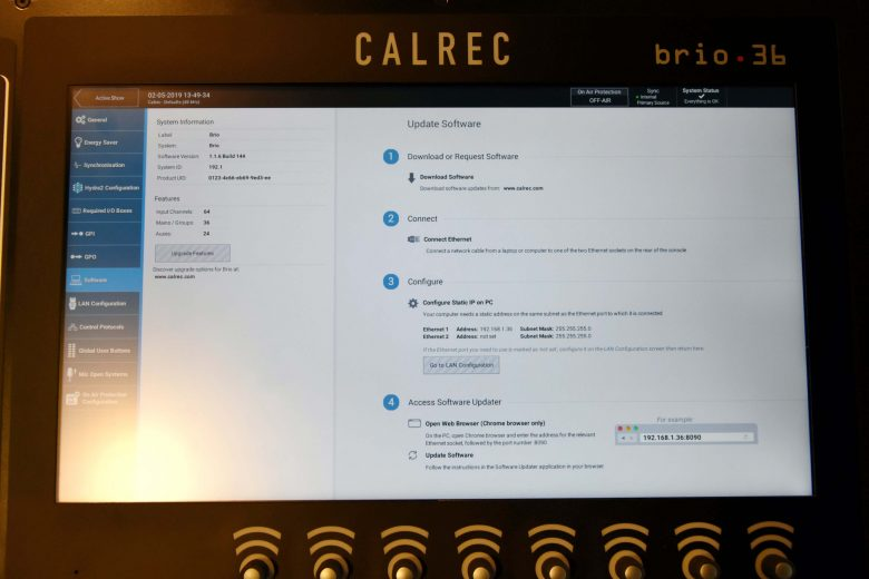 Calrec Brio36 for sale