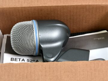 Shure Beta 52A used