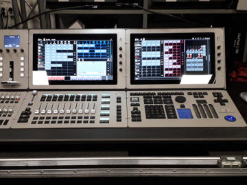 M6 ex-demo lighting console