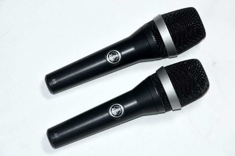 Used AKG D5 on Gearwise