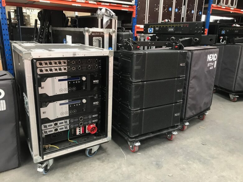 Nexo M28 system on Gearwise