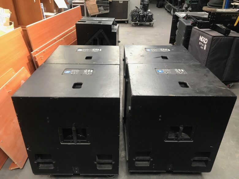 Used Nexo M28 system