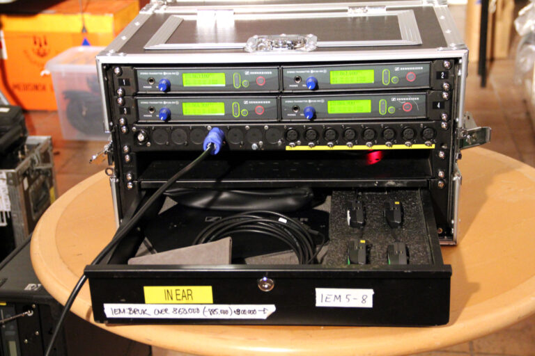 4 channel Sennheiser EW300 IEM for sale