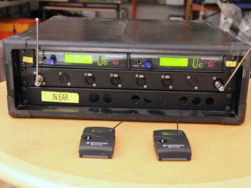 Used Sennheiser EW300 G2 2ch IEM System