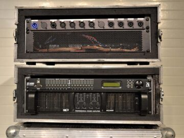 Next MQ10000 Amplifier & Xilica XP-8080 DSP