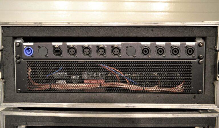 Next MQ10000 Amplifier & Xilica XP-8080 DSP