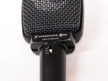 Used Sennheiser e906 microphone
