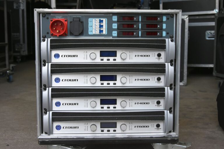 Used Crown amps i-Tech 4000 6000 8000