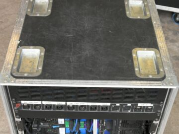 Used JBL VRX Crown amps